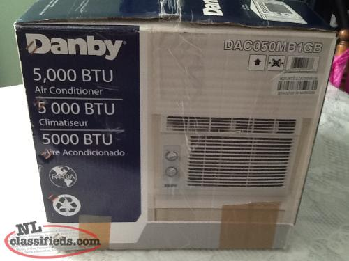danby 5000 btu air conditioner manual