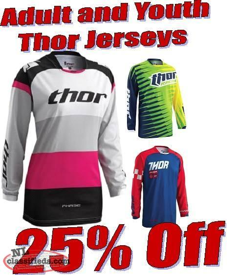 All In Stock Thor Jerseys 25% off!