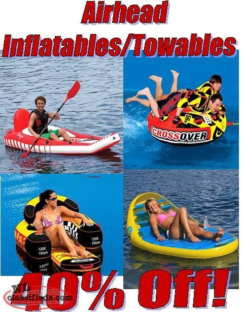All IN Stock Airhead Inflatables/Towables