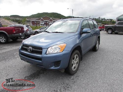 2012 Toyota Rav4 Base 4x4 Corner Brook Newfoundland