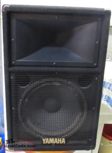 Two yamaha 12 speakers new price cbs newfoundland for Yamaha speakers price