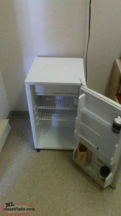 mini fridge freezer very good condition st john 39 s. Black Bedroom Furniture Sets. Home Design Ideas