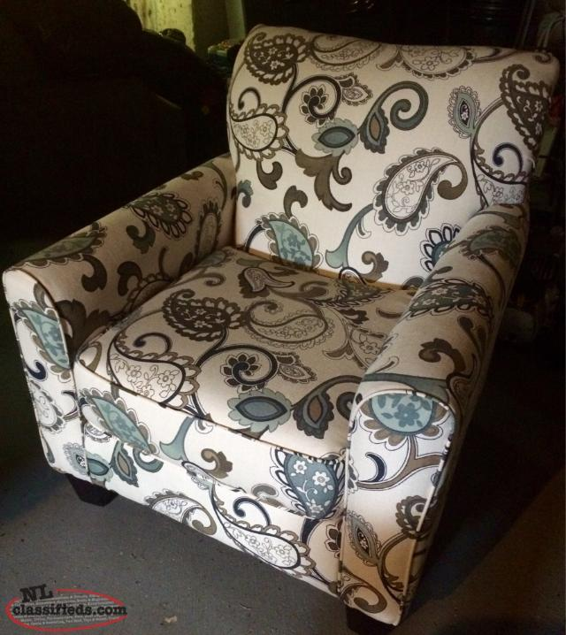 Beautiful Accent Chair Paradise Newfoundland