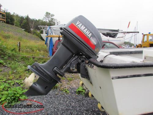 Yamaha enduro 40 hp outboard motor corner brook for Yamaha enduro 40 hp outboard