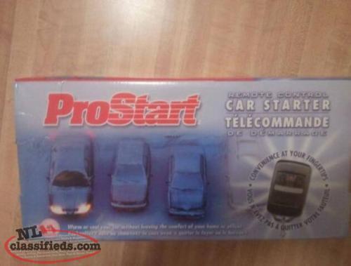 prostart car starter user manual