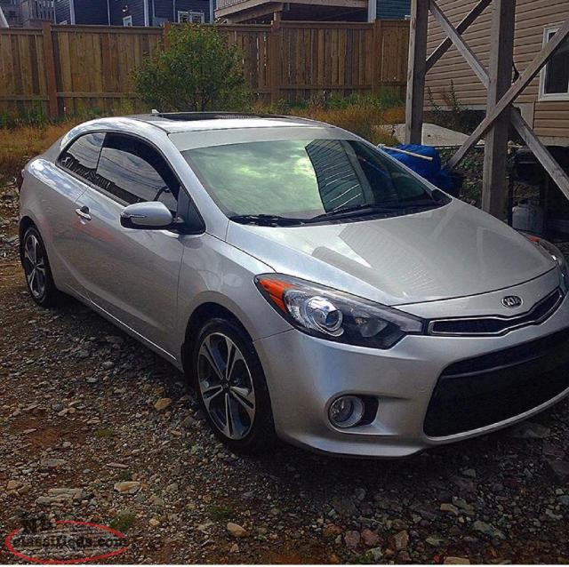 2014 kia forte koup ex for sale newfoundland. Black Bedroom Furniture Sets. Home Design Ideas