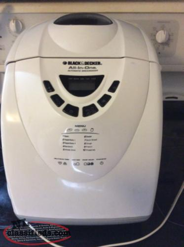 black & decker bread machine manual