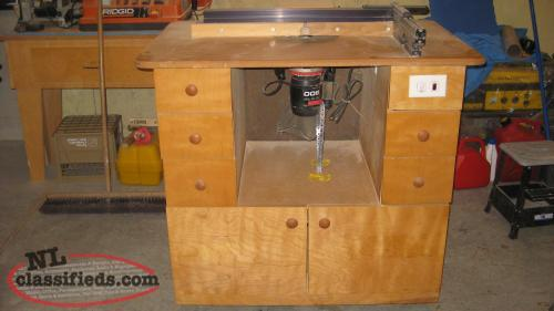 Wood Craft Freud Plunge Router