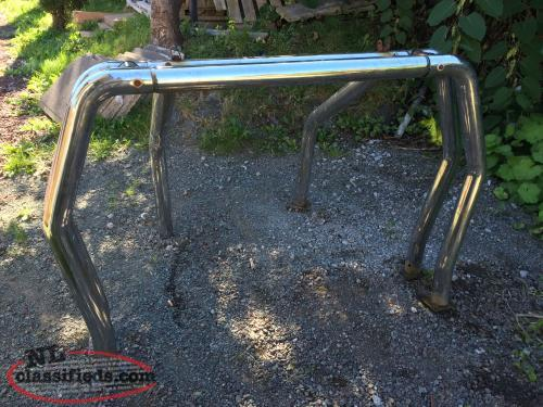 for sale a double chrome roll bar came of s 1998 chevy pickup marystown newfoundland. Black Bedroom Furniture Sets. Home Design Ideas
