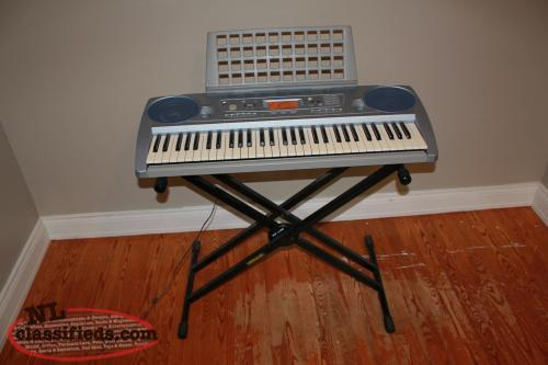 Piano for sale yamaha psr 273 keyboard with stand st for Yamaha psr stand