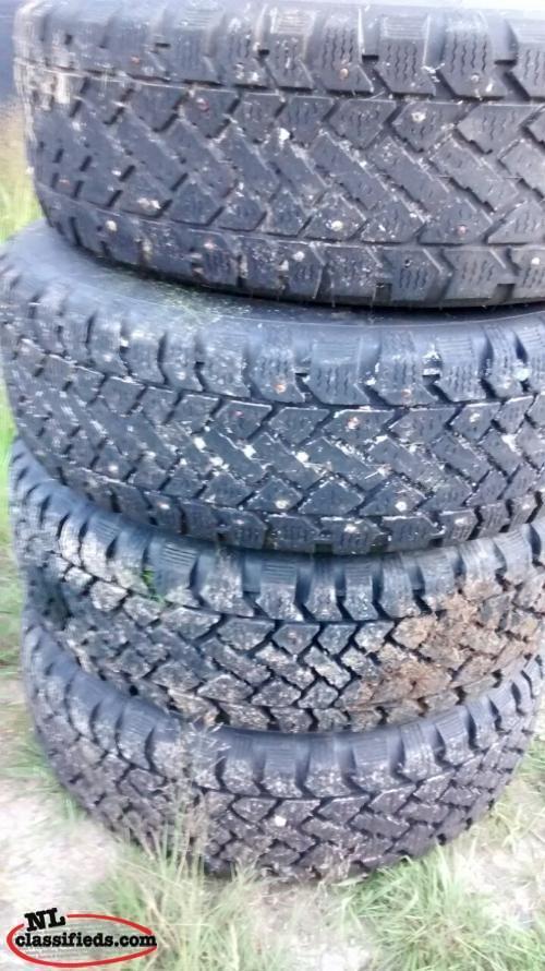 215 65r15 studded tires cbs newfoundland. Black Bedroom Furniture Sets. Home Design Ideas