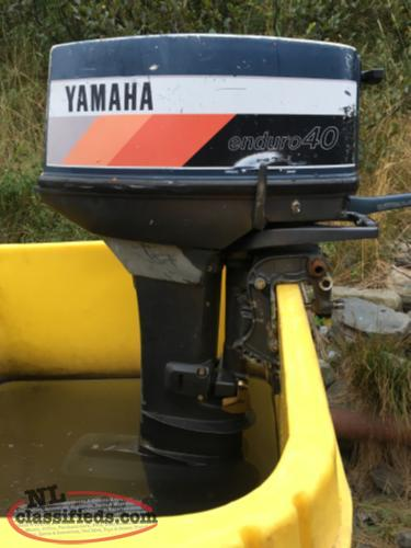 Yamaha enduro 40 bay bulls newfoundland for Yamaha enduro 40 hp outboard