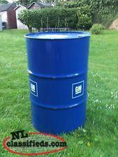 45 gal.steel drums/barrels
