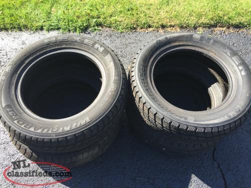 studded winter tires for sale conception bay south newfoundland. Black Bedroom Furniture Sets. Home Design Ideas