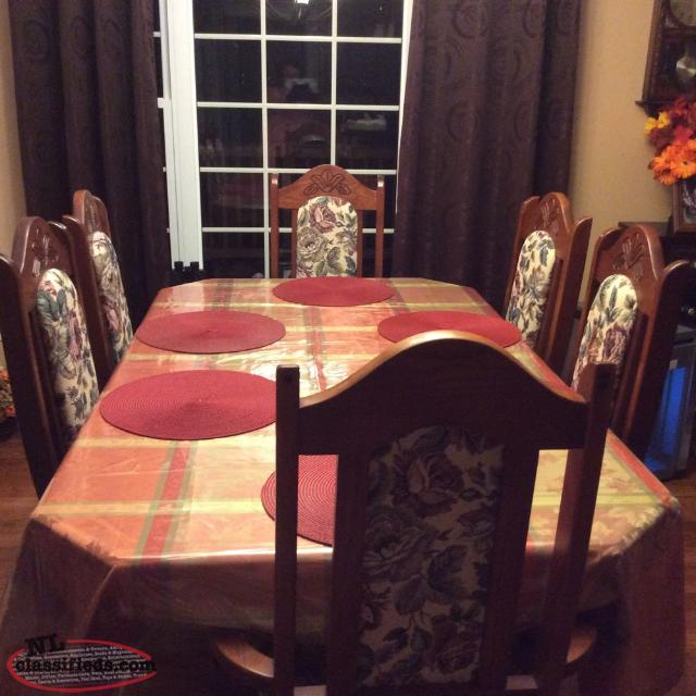 Table And 4Chairs Dildo Newfoundland