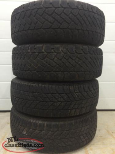 215 60r16 winter tires on steel rims st john 39 s. Black Bedroom Furniture Sets. Home Design Ideas