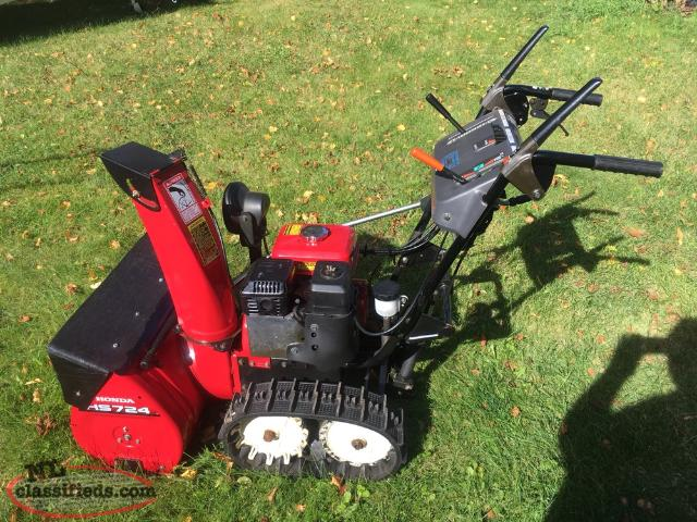 Honda snowblower 724 cbs newfoundland for Savio 724 ex manuale