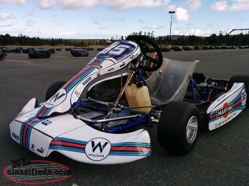 LO206 Racing Kart and all the Extras