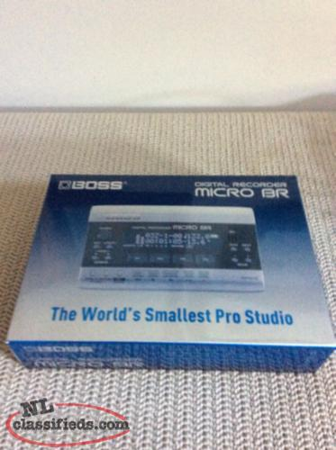 boss digital recorder micro br manual