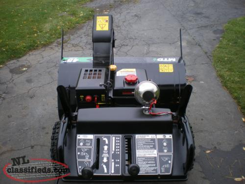 Industrial Snow Blowers : Industrial snow blower conception bay south newfoundland