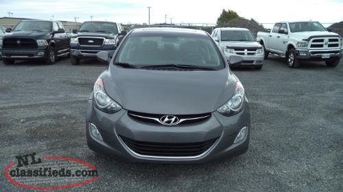 2013 hyundai elantra clarenville newfoundland. Black Bedroom Furniture Sets. Home Design Ideas