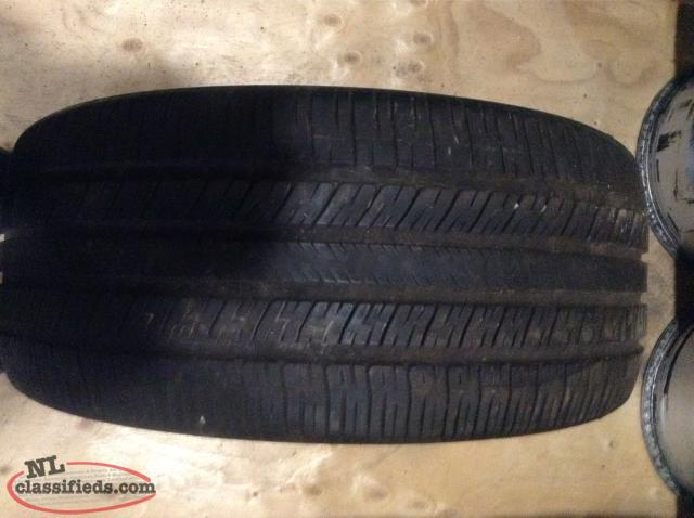 P255/45R19 Goodyear Eagle RS-A Tire