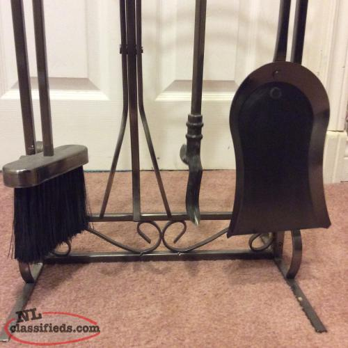 Heavy duty fireplace woodstove screen st johns for Heavy duty living room furniture