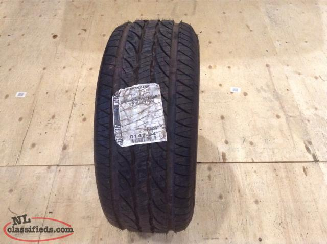 P275/55R17 Brand New Dunlop All Season Tire (Never Been Mounted)