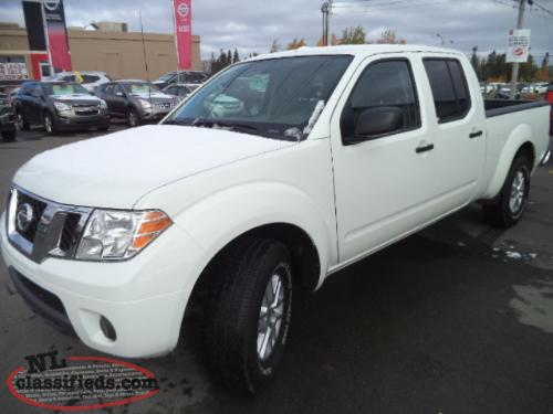 2016 nissan frontier crew cab sv 4x4 gander newfoundland. Black Bedroom Furniture Sets. Home Design Ideas