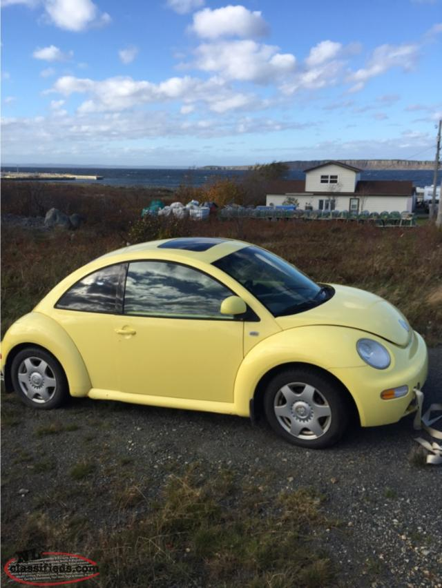 2000 vw beetle 1 8 turbo standard cbs newfoundland. Black Bedroom Furniture Sets. Home Design Ideas