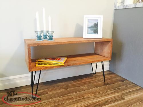 Barn board and hairpin leg table upper island cove for Coffee tables 36 wide