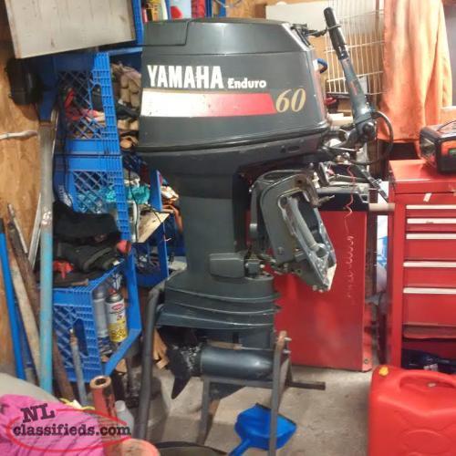 Yamaha 60 enduro paradise newfoundland for Yamaha enduro 40 hp outboard