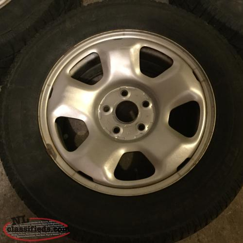 17 Quot Honda Rims 5x120 Wheel Bolt Pattern With Tires