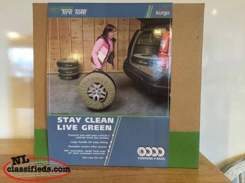 Tire storage bags