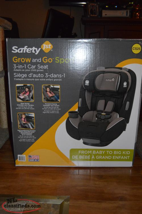 safety 1st 3 in 1 car seat brand new in box conception bay south newfoundland. Black Bedroom Furniture Sets. Home Design Ideas