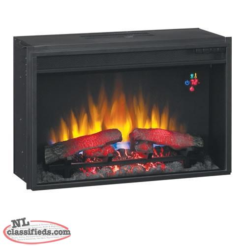Classic Flame 26 Inch Fixed Front Electric Fireplace Insert Cbs Newfoundland