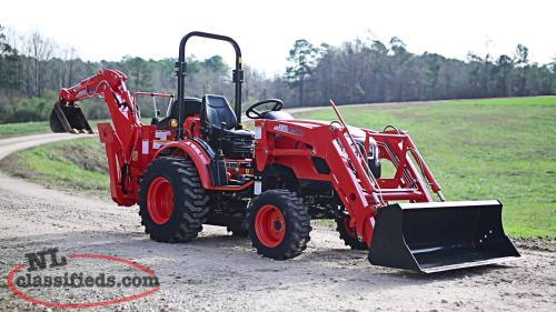 KIOTI CK2510 COMPACT TRACTOR TLB PACKAGE