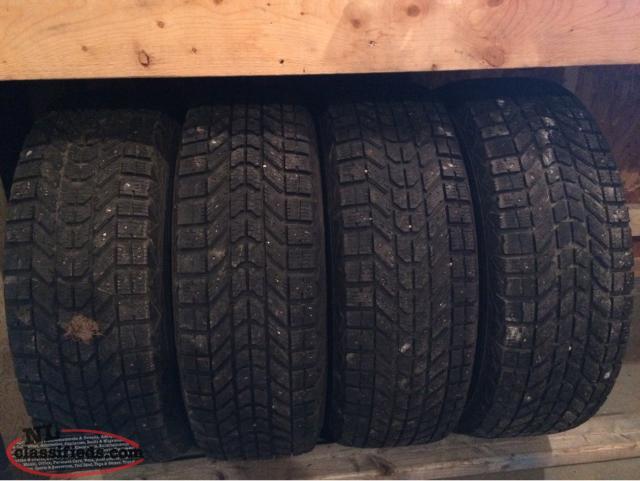 Winter Tires And Rims For Sale Corner Brook Newfoundland