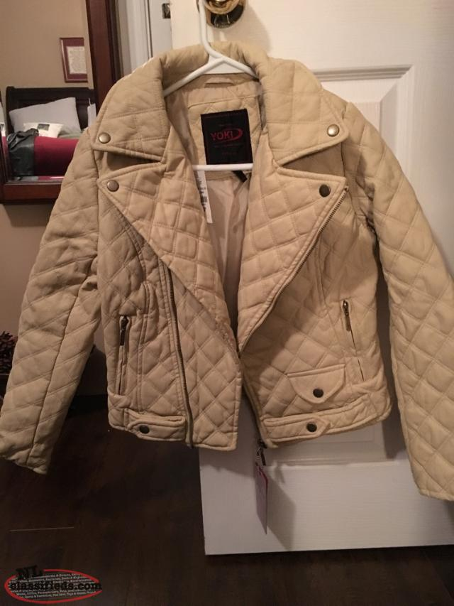 Brand New Girls Quilted Jacket