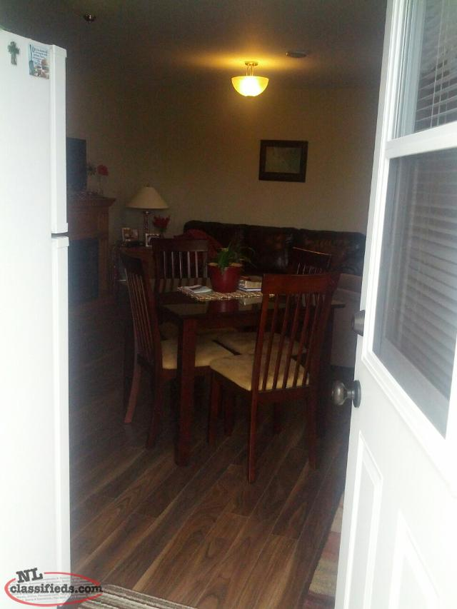 bedroom above ground basement apartment available feb 1sr gander