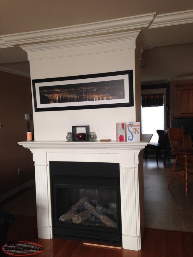 Napoleon double sided propane fireplace paradise for Double sided fireplace price