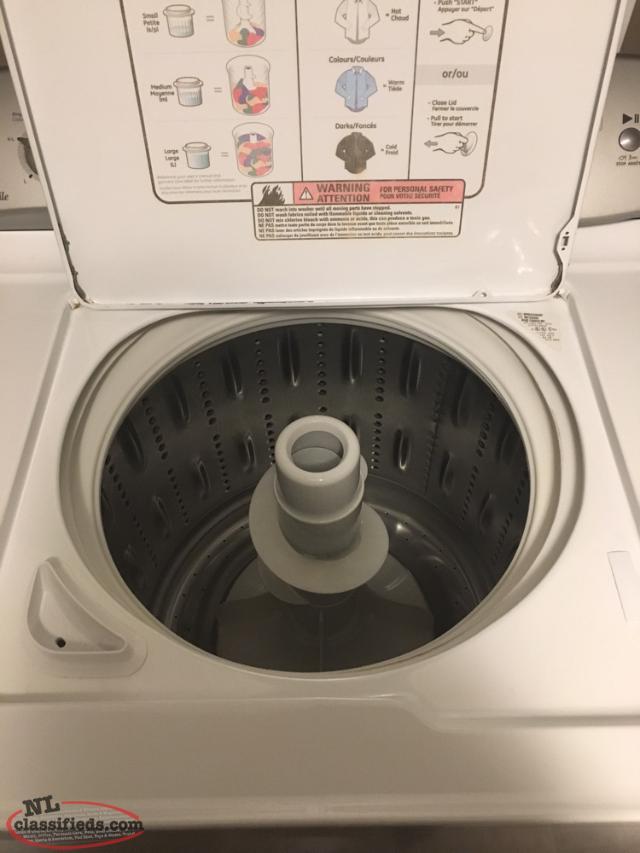 washer ge profile king capacity st john 39 s newfoundland. Black Bedroom Furniture Sets. Home Design Ideas