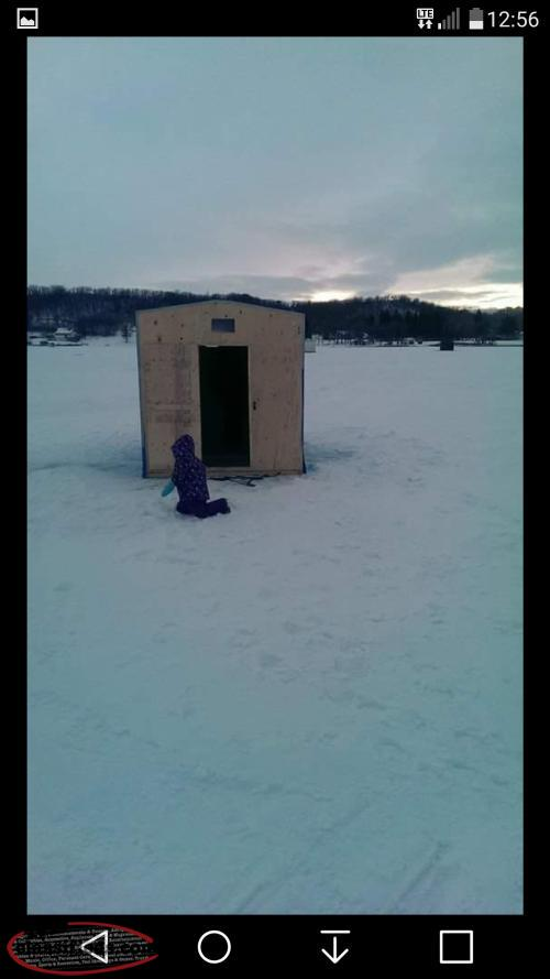 Ice fishing hut mount pearl newfoundland for Ice fishing huts for sale