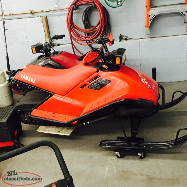 Yamaha snow scoot sold sold st philps newfoundland for Yamaha sno scoot price