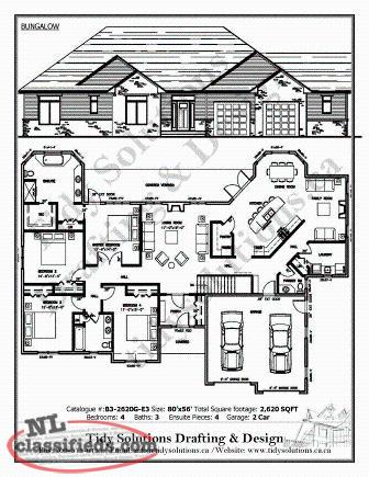Custom House Plans Interior Design More Port De Grave