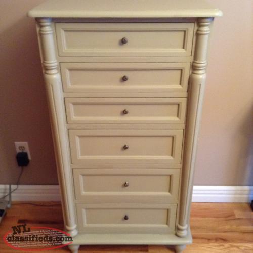 Beautiful antique white six drawer dresser mount pearl for 12 inch depth dresser