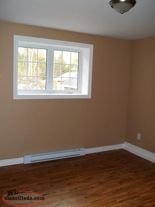 2 bedroom basement apartment for rent clarenville
