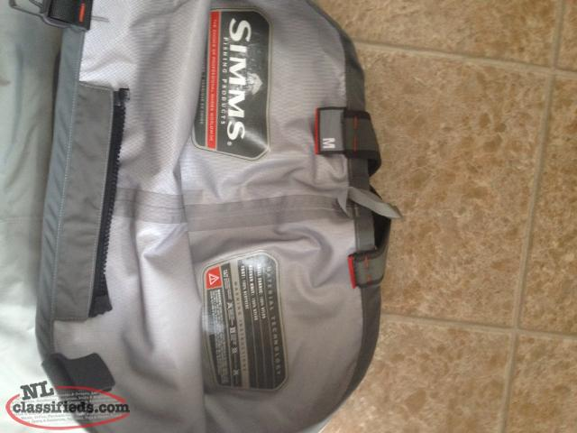 Simms fishing gear mount pearl newfoundland for Simms fishing products