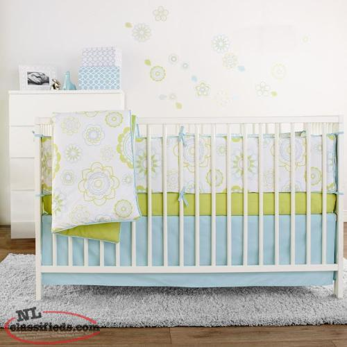 3-piece Crib Set Bedding