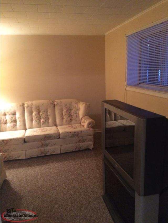 1 Bedroom Basement Apartment For Rent Available Immediately Mt Pearl Newfoundland